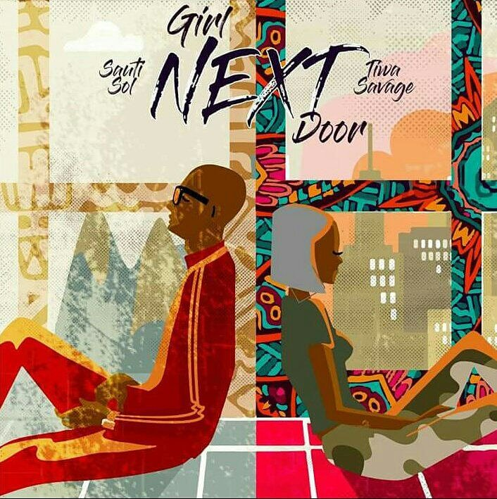 Sauti Sol – Girl Nextdoor ft Tiwa Savage (Produced . By Maleek Berry)