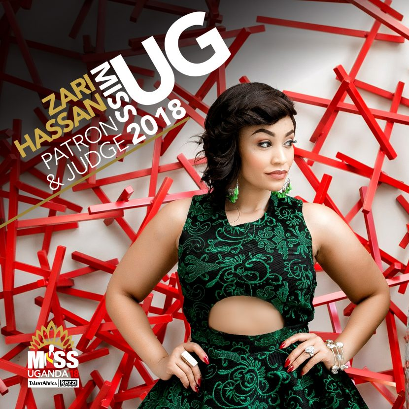​​​​​​​Zari to be a Judge at the Miss Uganda Pageant