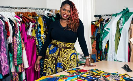Kahindo Mateene Fashion Designer from Congo