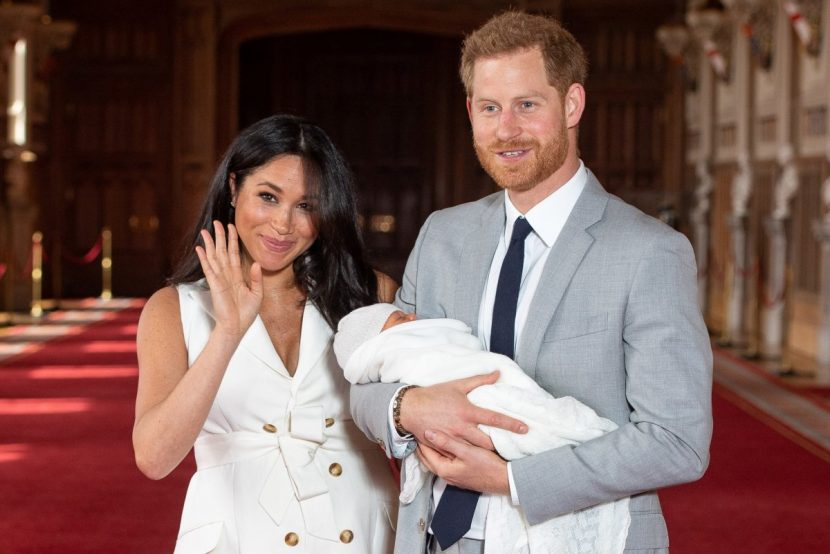 Prince Harry and Meghan Markle name Baby Son Archie Harrison