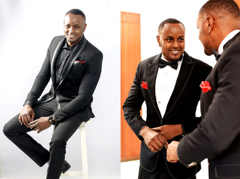The non-traditional tuxedo – Black tie Kenya edition