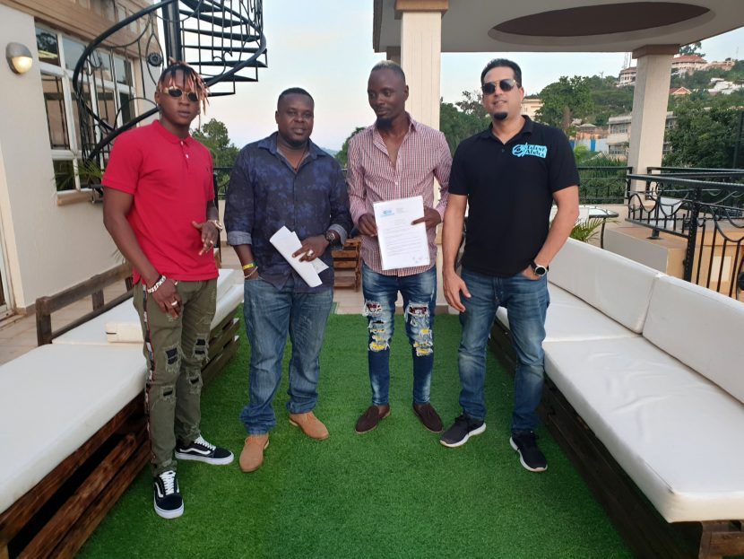 Beenie Gunter Signs Fresh Deal with Talent Africa & Introduces New Management Team