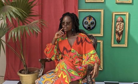 Lupita Nyong'o's Ghana Holiday Wardrobe Combines Gorgeous Colourways & Cult Sandals